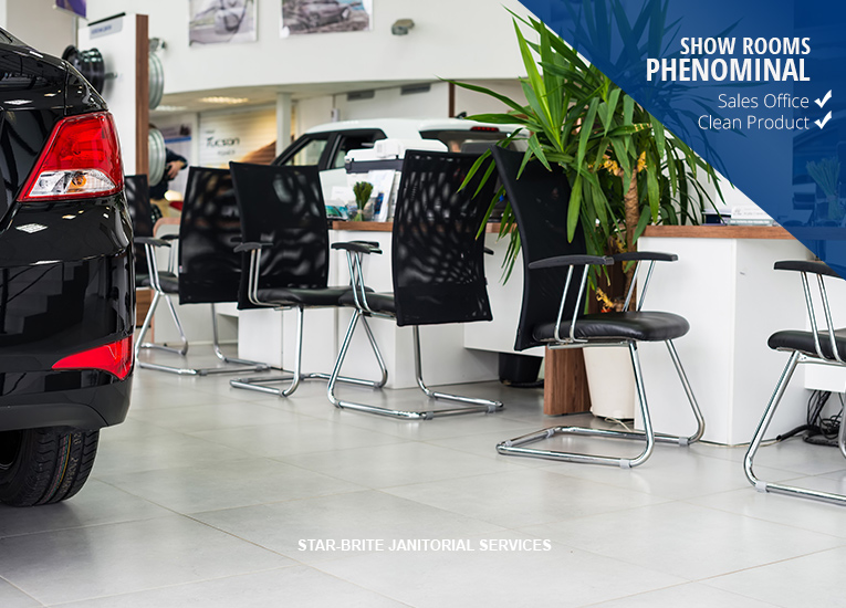 cleaning showroom services for dealerships